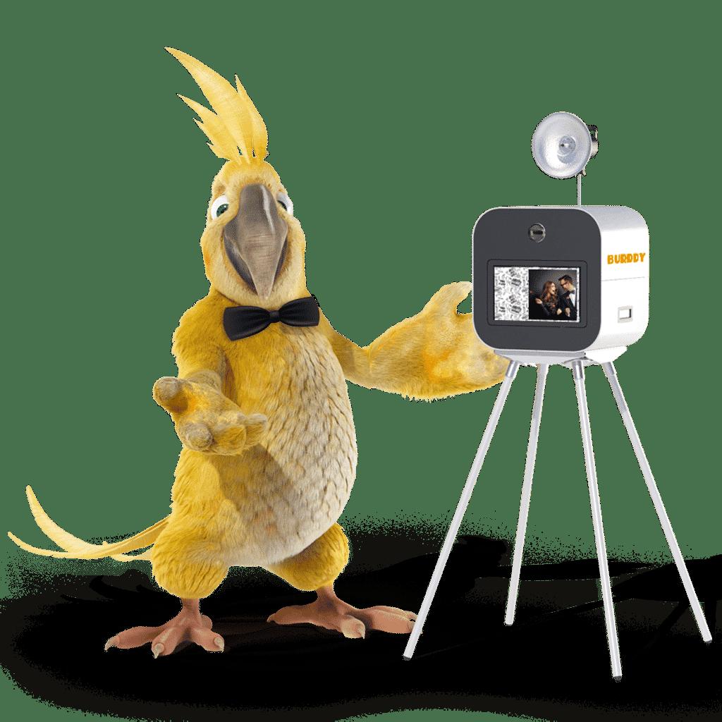 Burddy, l'animation photobooth pour les professionnels
