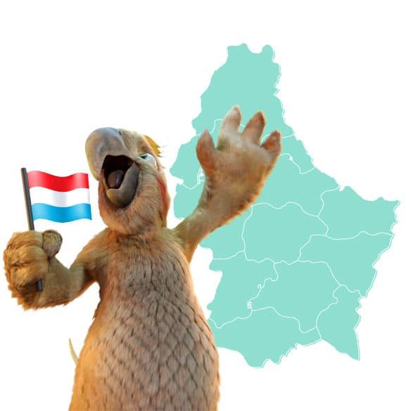 Avec Burddy, profitez de la livraison gratuite dans tout le Luxembourg